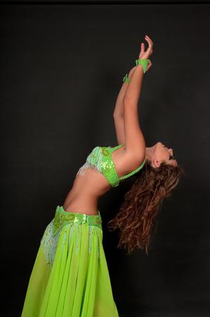 belly dancer: Belly dancer  Stock Photo