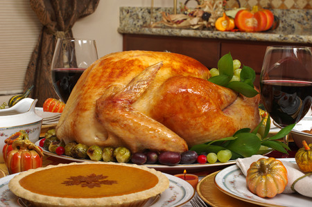 Thanksgiving turkey photo