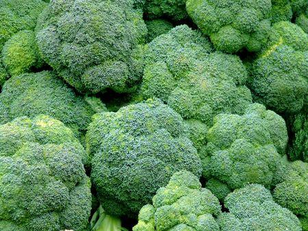 Bunch of green broccoli photo