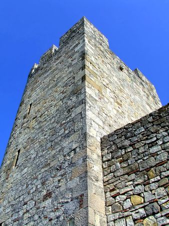 embrasure: Fortification stone wall with tower