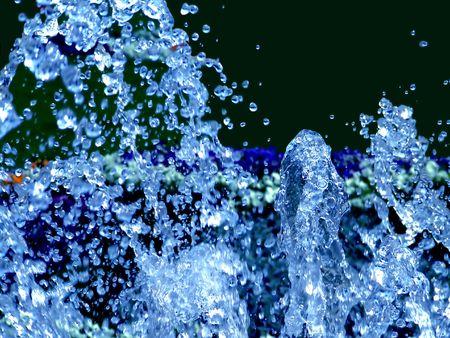 moment: Water splash moment