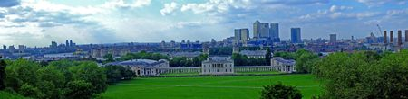 greenwich: Panorama of Greenwich museum east London