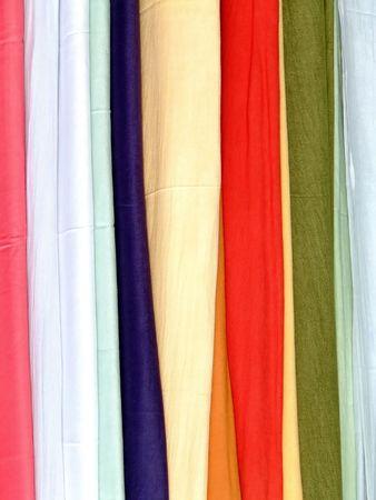 foulards: Bunch sciarpe di cotone in vari colori