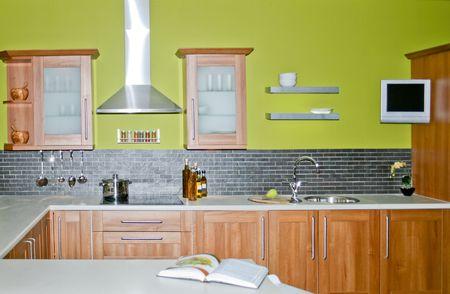 Cucina Pareti Verdi. Pareti Cucina Verde Salvia Duylinh For With ...