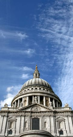 Old St. Paul Cathedrals in central London