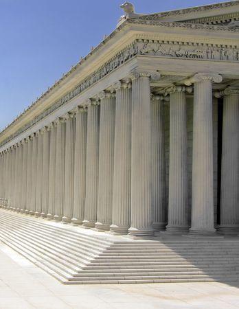grec antique: Grec ancien temple du Parth�non sur l'Acropole Banque d'images