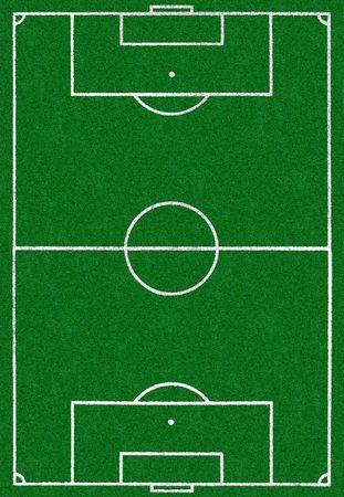 Aerial view of soccer sport stadium field Stock Photo - 960954