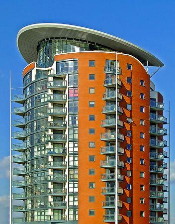 condos: Big residential building apartment tower new design