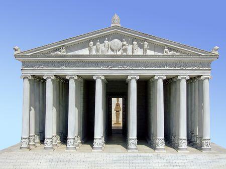 ancient philosophy: Ancient Greek Parthenon temple on the Acropolis