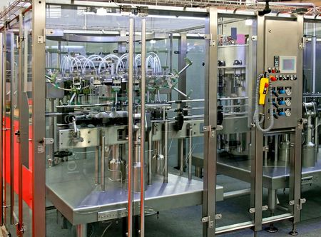 New and shine automated packing process machine  photo