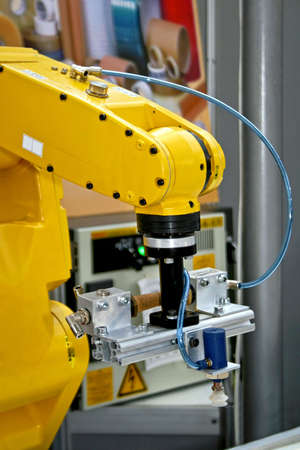 robotic: Robotic hand designed for complex industry operations  Stock Photo