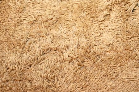 merino: Organic rug made from natural merino wool  Stock Photo