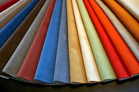 Color palette sample picker of leather material  Stock Photo - 2036752