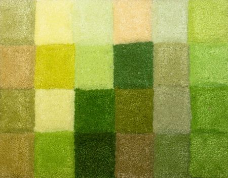 saturation: Color palette picker of carpet textile fabrics