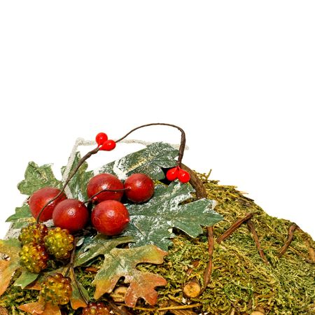 Natural organic traditional Christmas seasonal holiday decoration Stock Photo - 2207890