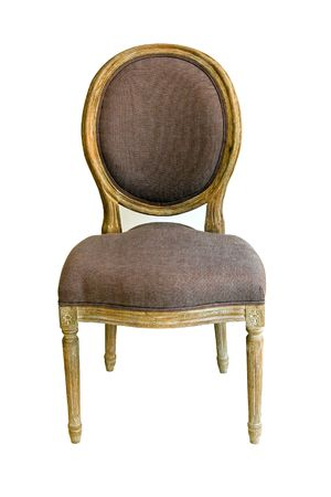 antique chair: Retro wooden chair