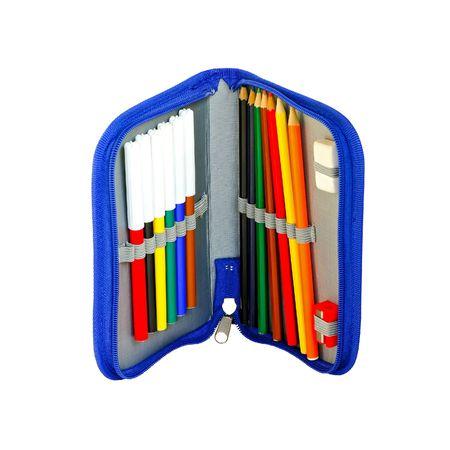 Open pencil box  photo
