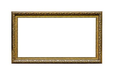 Old vintage artistic frame with carved edges Stock Photo - 7316598