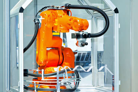 automatic: Robotic arm for automatic operations with control unit