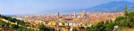 res: HI res 50 mega pixel Florence Tuscany panorama