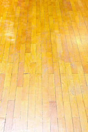bad condition: Perspective shot of bad condition parquet floor