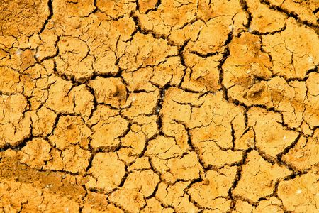 Cracked earth of the dead drought land  photo