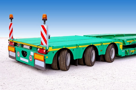 Trailer for special transport and heavy loads