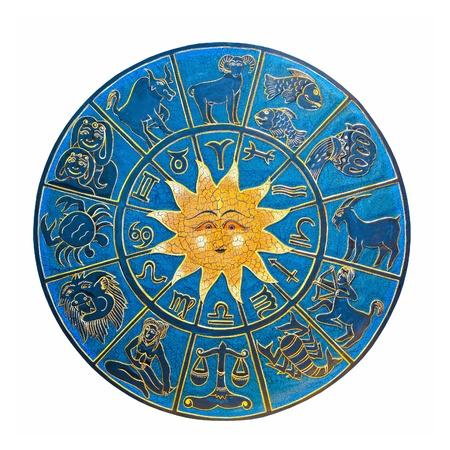 Zodiac with sun Stock Photo - 8375894