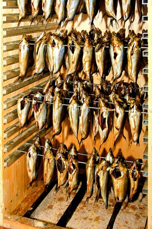 fishy: Preparation and production of smoked herring fish