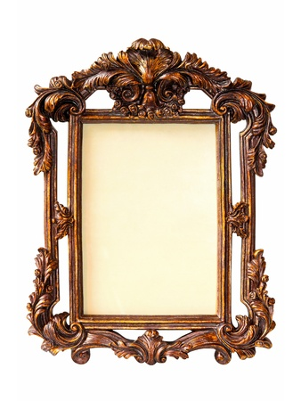 Old antique frame Stock Photo - 8412554