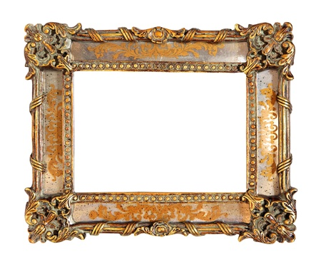 Antique decorative frame photo