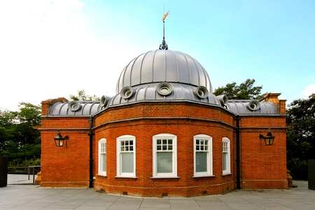 greenwich: Altazimuth Pavilion as part of Royal Observatory in Greenwich