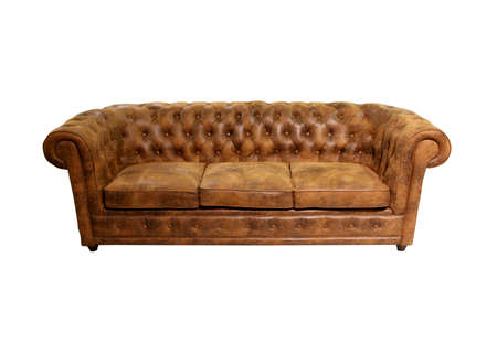 couch: Old classic sofa Stock Photo