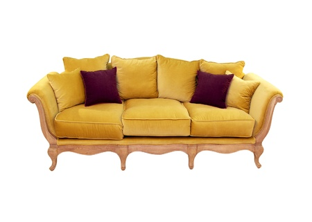 vintage furniture: Retro sofa