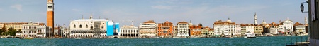 Sunny day cityscape panorama of historic Venice Stock Photo - 9188344