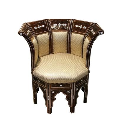 Traditional Arabic chair  photo
