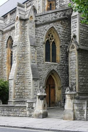 Local cristiana iglesia protestante en el barrio de Londres Foto de archivo - 10259790