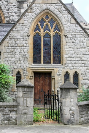 Local Christian Protestant church in London neighborhood photo