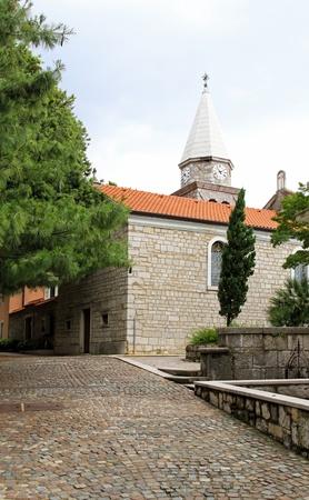 catholicity: St. James church exterior in Opatija Croatia