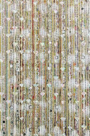 bijoux: Diamonds pearls and crystals bijoux beaded curtains Stock Photo