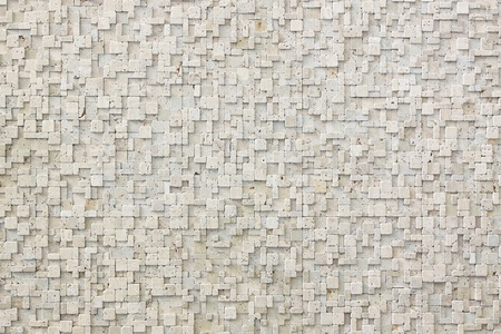 Background made from small white marble tiles Stock Photo - 10261926
