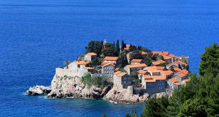 montenegro: St. Stefan island and resort in Montenegro