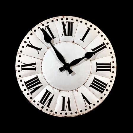 dials: Retro style clock.