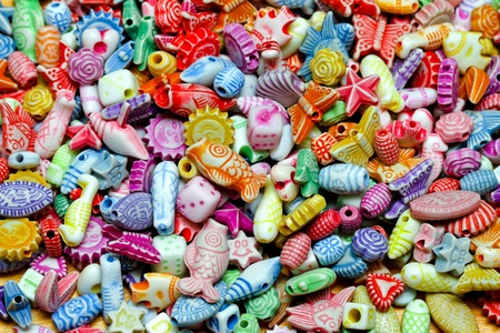 bijoux: Multi color background made from plastic beads