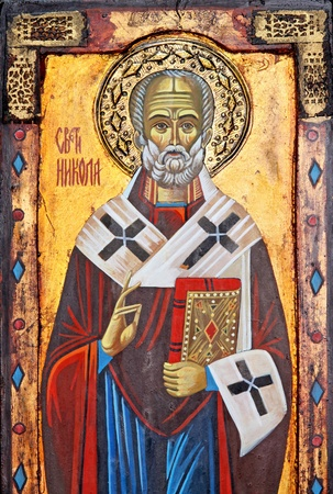 nicolas: Icon of popular Christian religion Saint Nicolas