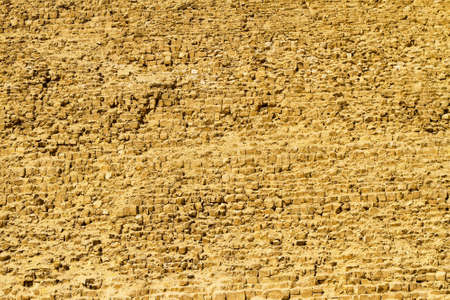 Khafre pyramid wall texture at sunny day photo