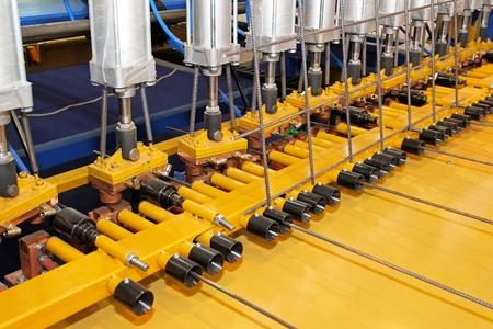 Proceso de trabajo detallado de máquina de soldar barras de refuerzo Foto de archivo - 11733701