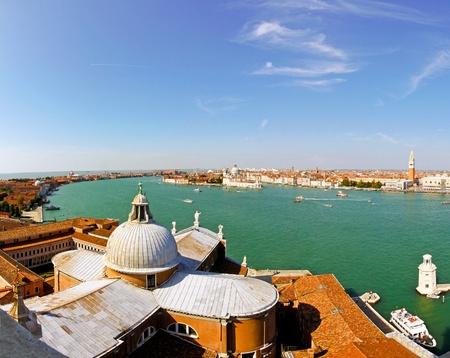 VENICE, ITALY - SEPTEMBER 26: Church of San Giorgio Maggiore in Venice on SEPTEMBER 26, 2009. Church of San Giorgio Maggiore in Venice, Italy. Stock Photo - 12147734