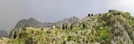 st john: Fortress of St John in Kotor Montenegro