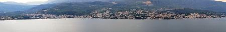 Panoramic cityscape of Herceg Novi in Montenegro photo